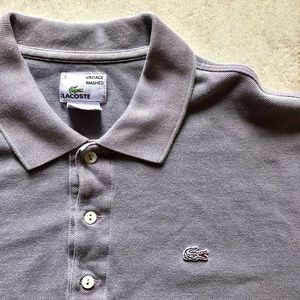 Lacoste Shirts - Lacoste Vintage Washed Polo